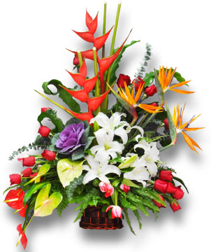 First, the oriental art of flower arrangement styles and characteristics